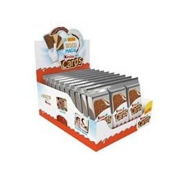 KINDER CARDS T2 CARTONE 30PZ