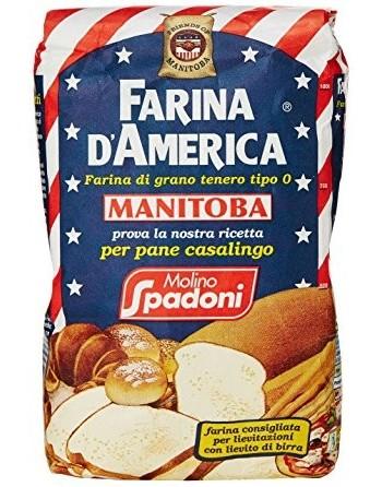 FARINA MANITOBA AMERICANA 1 KG