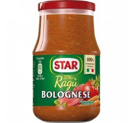 RAGU' STAR A LA BOLOGNAISE...