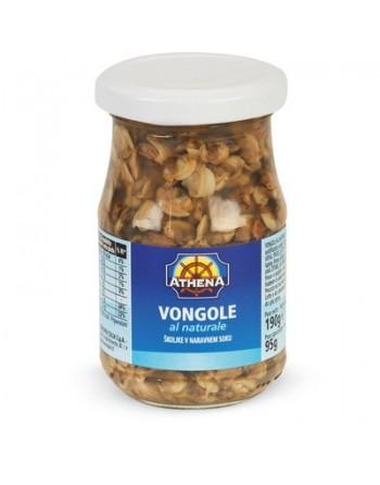 VONGOLE AL NATURALE 190 gr