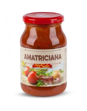 """SAUCE """"AMATRICIANA"""" 400 GR"""