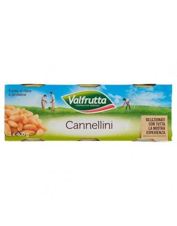 VALFRUTTA Cannellini 3X400 GR