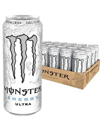 MONSTER ENERGY ULTRA WHITE...