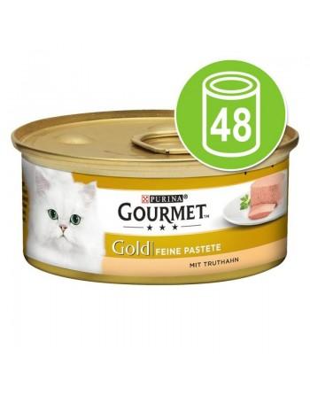 Gourmet Gold Mousse 48 x 85 gr