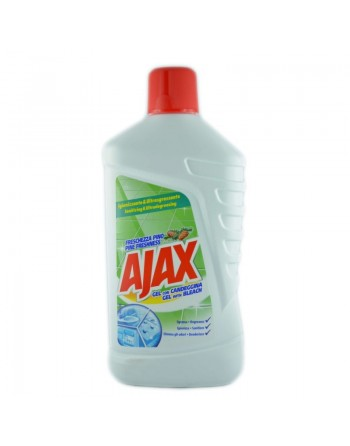 Ajax Gel con candeggina...