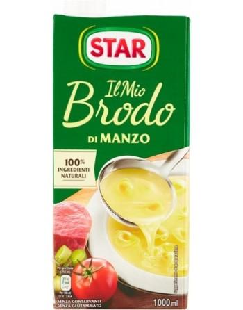 BRODO STAR CARNE MANZO 1 LT