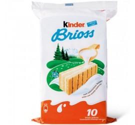 KINDER BRIOSS PAQUET DE 10...