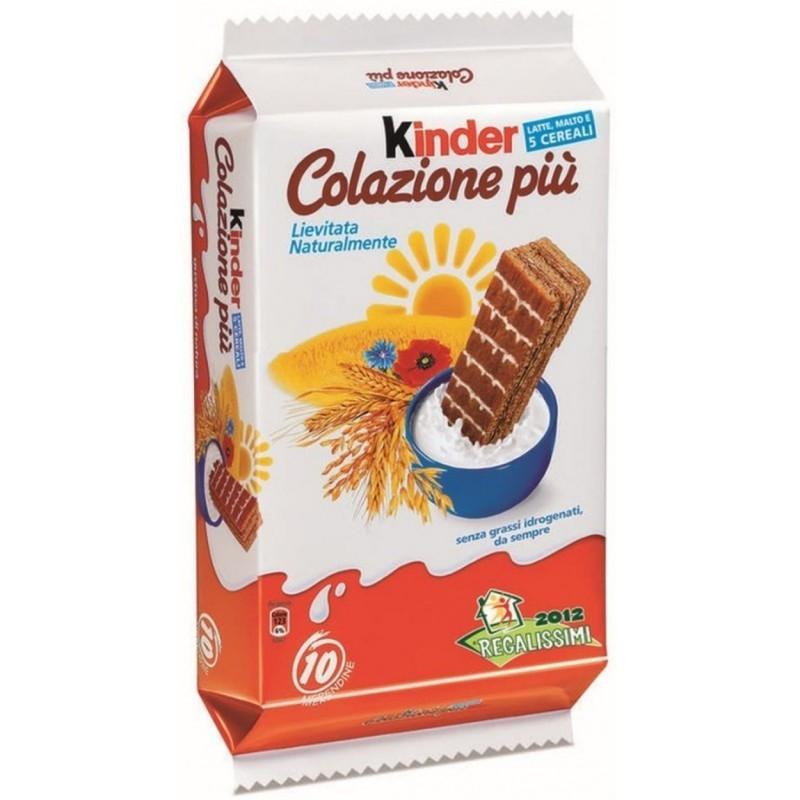 Kinder Colazione Piu Confezione Da 10 Merendine Ferrero
