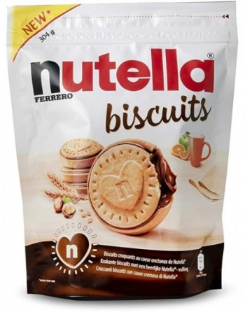 NUTELLA BISCUIT 304 GR