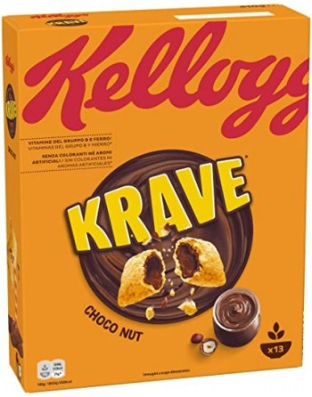 KELLOGS CHOCO KRAVE...