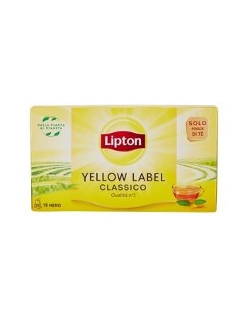 Lipton yellow label...