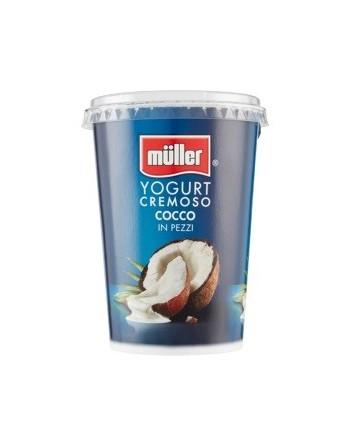 Müller yogurt cremoso cocco...